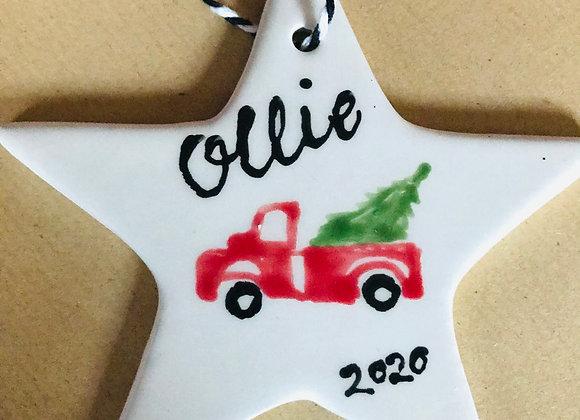 Vintage Truck Christmas decoration