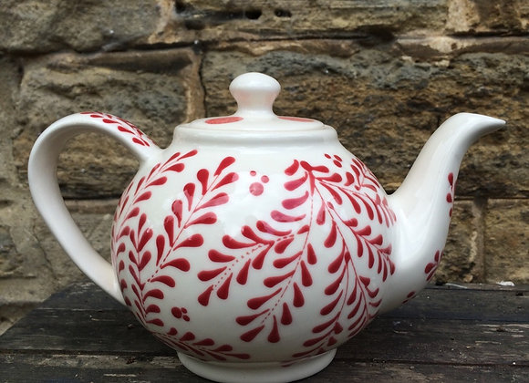 Mulberry red Tea pot 2 cup
