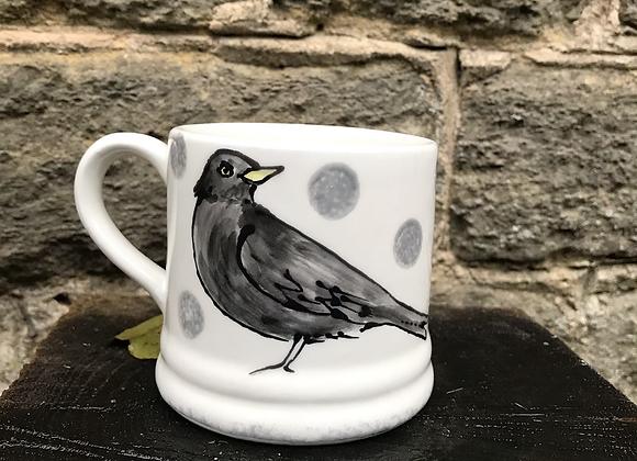 Wildlife Blacbird Regular Mug