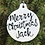 Thumbnail: Hand lettered Christmas decoration