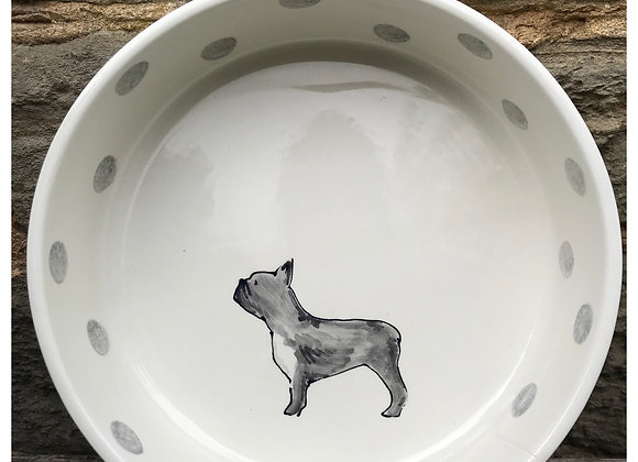 Dotty Dog Large Dog Bowl