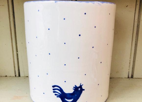 Blue Hen Utensil pot