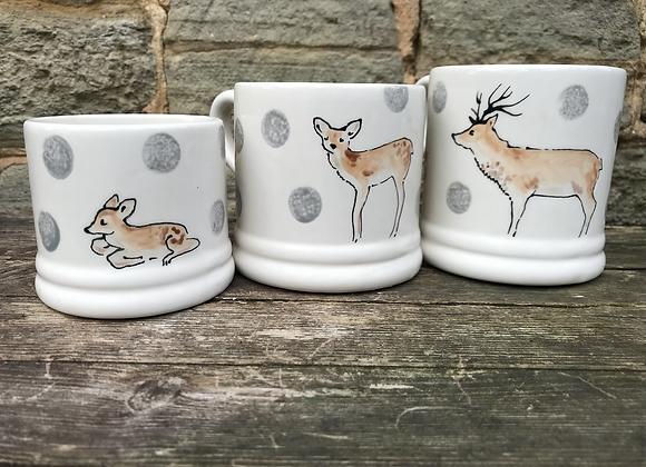 Wildlife Espresso Fawn Mug