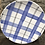 Thumbnail: Blue Tartan Coupe Side Plate
