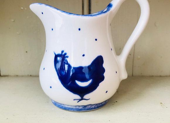 Blue Hen Baby curvy jug