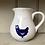 Thumbnail: Blue Hen large Curvy Jug