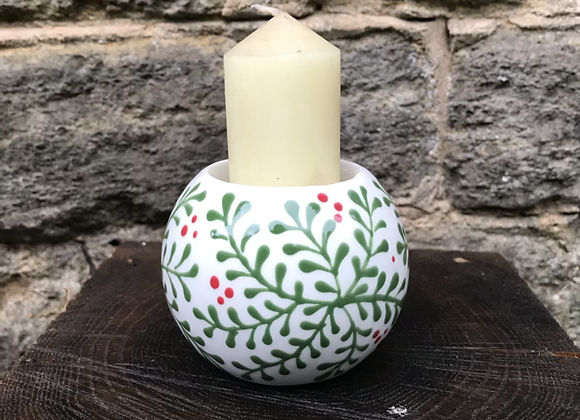 Mulberry Green Candle Holders