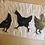 Thumbnail: Lino Cut of 3 Hens