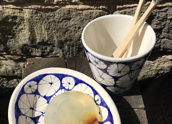Blue Urchin Bathroom Set