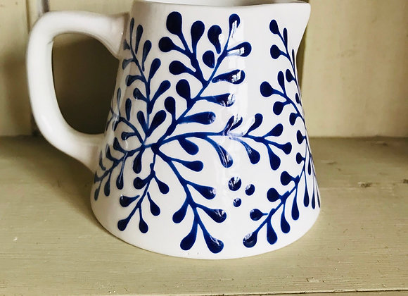 Mulberry blue baby jug