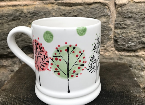 Winter Woodland mug regular