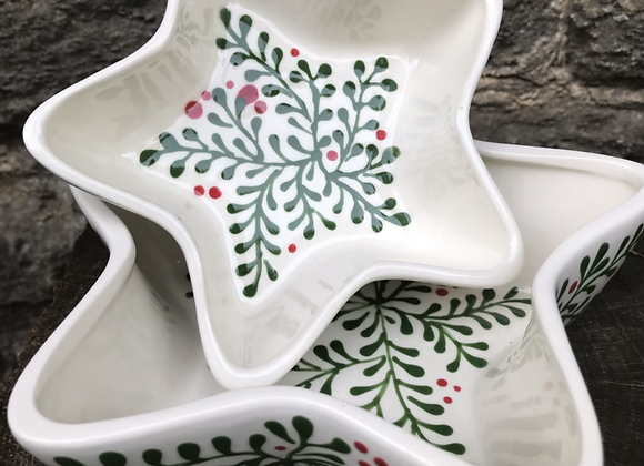 Mulberry Green Star Dishes