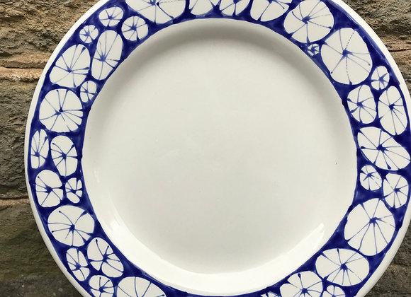 Blue Urchin Dinner Plate
