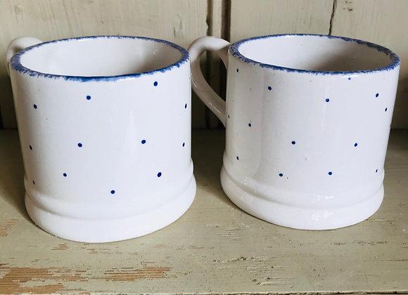 Mini spot blue espresso mug