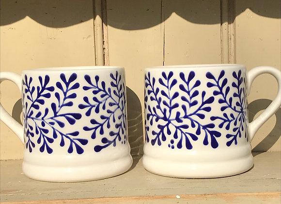 Mulberry blue baby mug