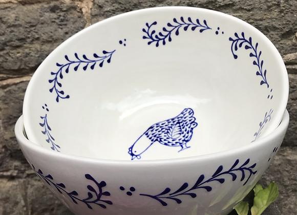 Bloomsbury Hen Supper Bowl