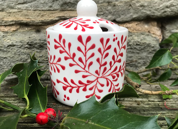 Mulberry Red Sugar Pot