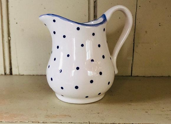 Mini Spot Blue curvy baby jug