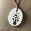 Thumbnail: Ceramic Tag Greetings Card with Christmas Tree x 3