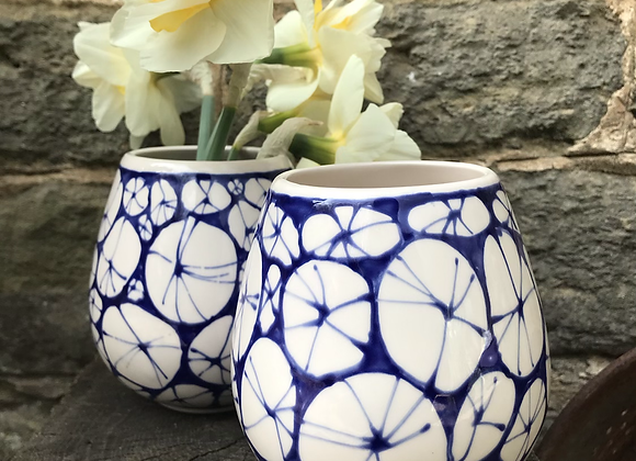 Blue Urchin Goblet