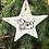 Thumbnail: Set of 4 Farmyard Star Decorations