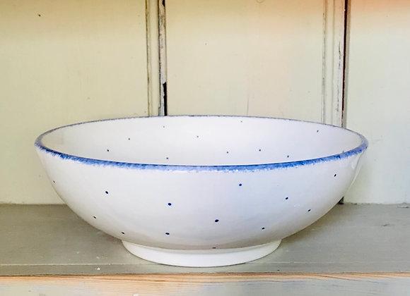 Mini spot Cereal bowl blue