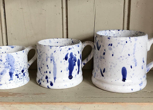 Splatterware Mug Regular blue