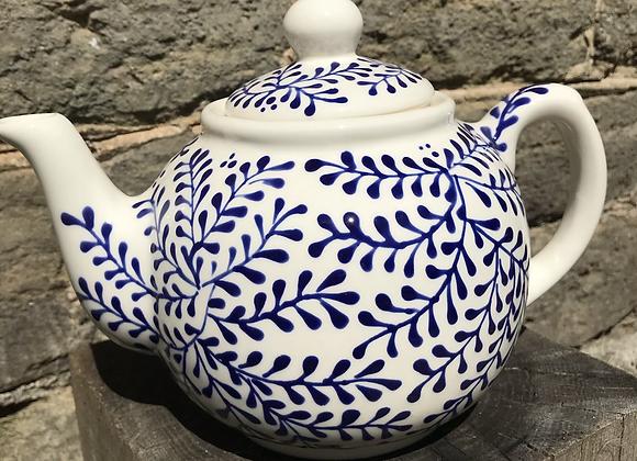 Blue Mulberry Teapot