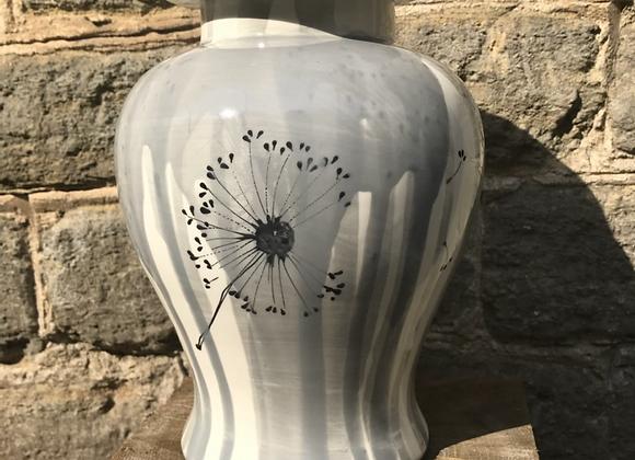 Dandelion Urn Grey