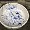 Thumbnail: Splatterware Blue Pet Bowl Small