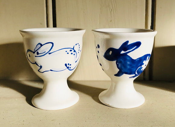 White Rabbit Egg Cup