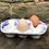 Thumbnail: Blue strokes 6 egg tray