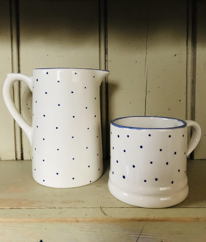 Thumbnail: Mini spot blue regular mug
