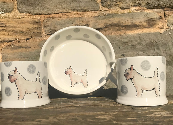 Dotty Dog Bowl Medium