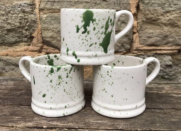 Green Baby mug Splatter
