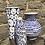 Thumbnail: Blue Doric Amberley vase