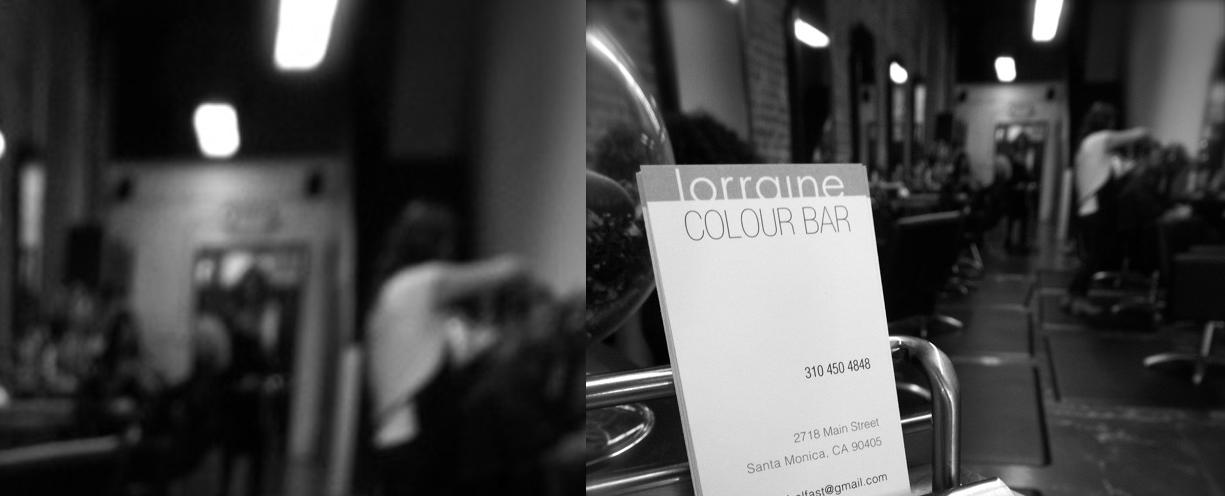 LORRAINE COLOUR BAR