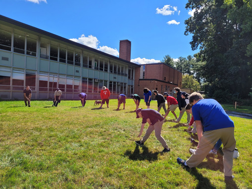 Kick Off to Our Hike-A-Thon Month with Assumption College