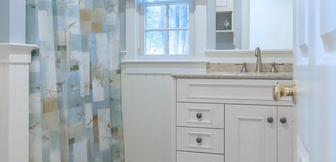 Ridgevale Beach, West Chatham, MA, Home Remodel, Nautical themed bathroom