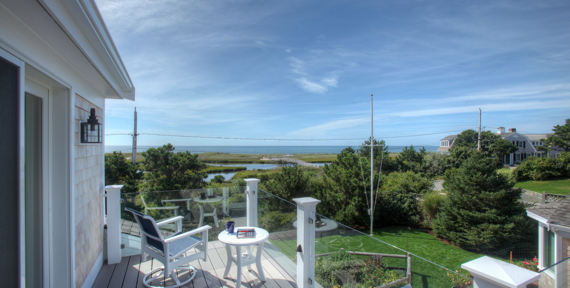 Ridgevale Beach, West Chatham, MA, Home Remodel, outdoor living