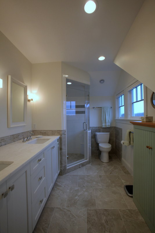 Ryders Cove, North Chatham Cape Cod Home Renovation, Bathroom Renovation