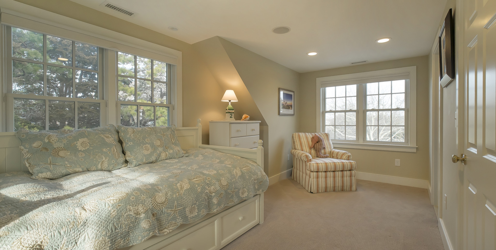 Ridgevale Beach, West Chatham, MA, Home Remodel, Cape Cod guest bedroom