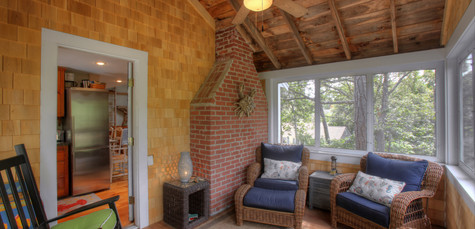 Cottage Remodel, South Chatham, MA, outdoor living, three seasons room