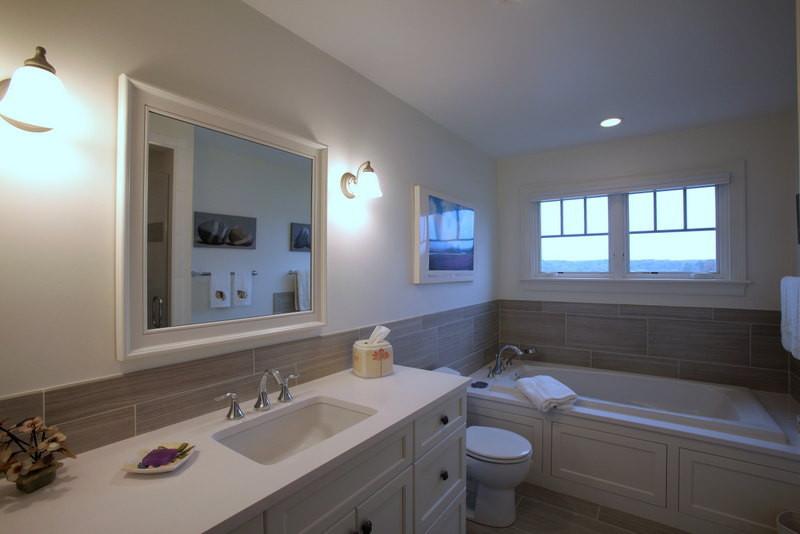 Ryders Cove, North Chatham Cape Cod Home Renovation, Bathroom Renovation and Tub
