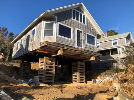 Why We Lift Houses: Forest Beach Chatham Project
