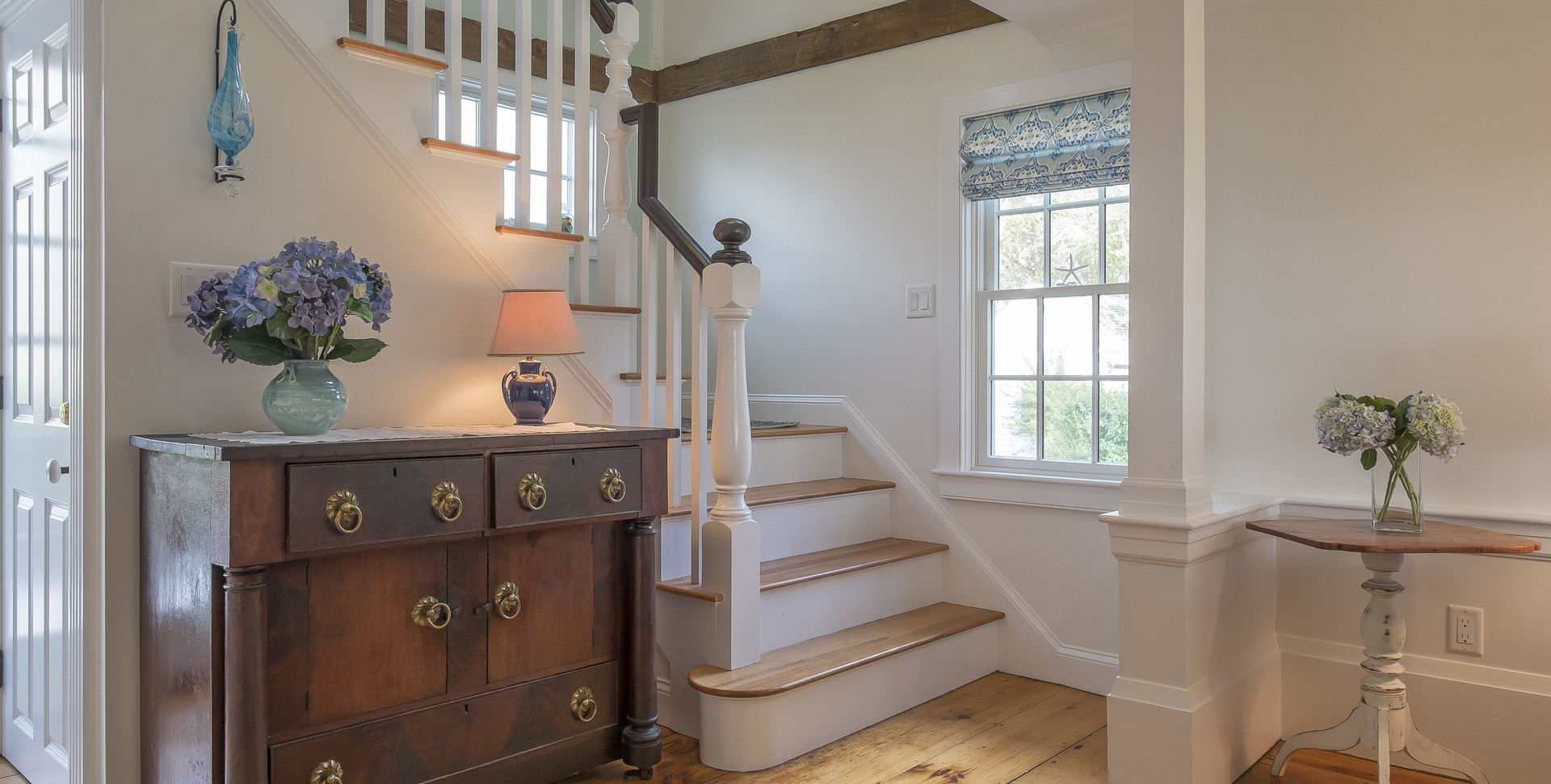 Old Village, Chatham, MA Historic Preservation Remodel, Staircase
