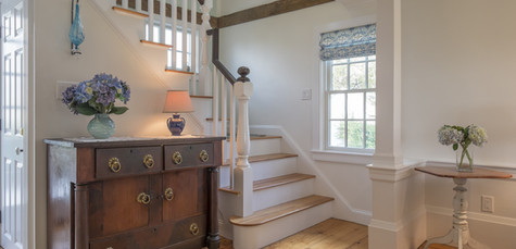 Old Village, Chatham,MA Historic Preservation Remodel, Staircase