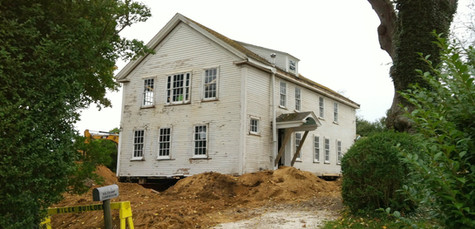 Historic Chatham House Before Demolition and Renovation