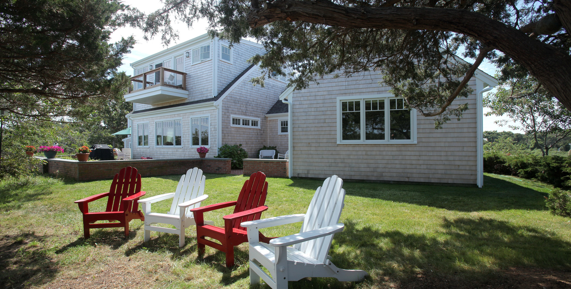 Ryders Cove, North Chatham Cape Cod Home Renovation, Outdoor living on Cape Cod
