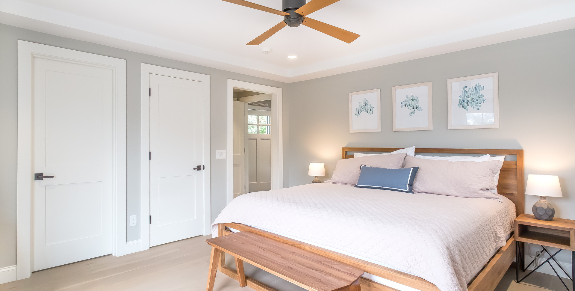 Bayberry Eastham, MA New Construction master bedroom